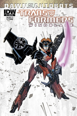 The Transformers: Windblade #4 (Subscription Cover)