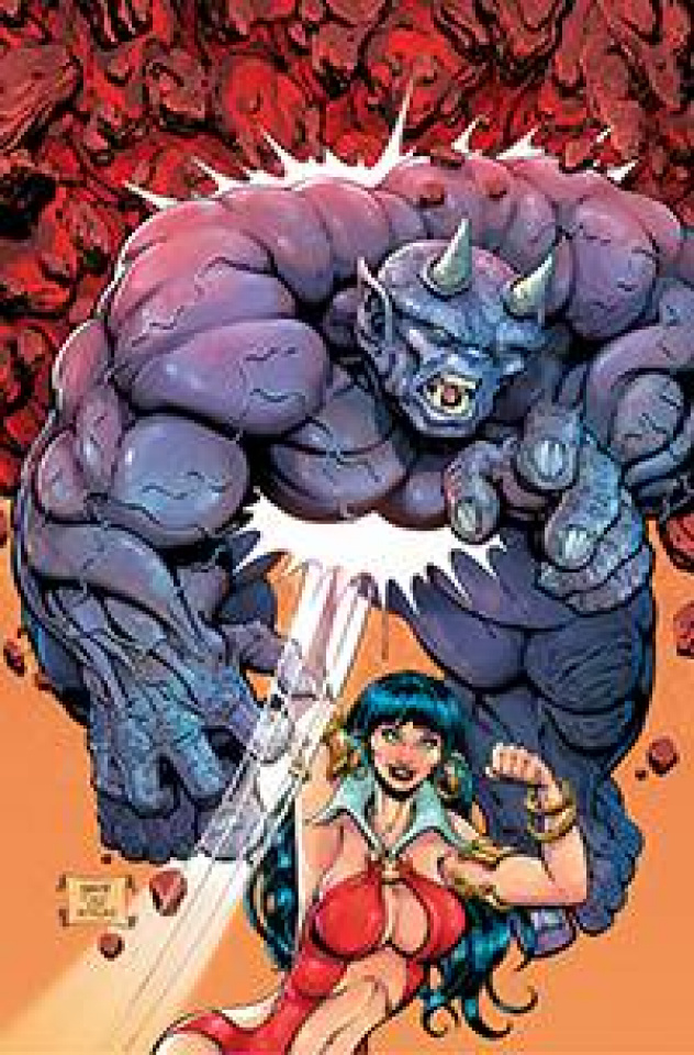 Vampirella #17 (Robson Homage Virgin Cover)