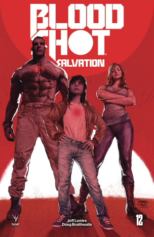 Bloodshot: Salvation #12 (Guedes Cover)