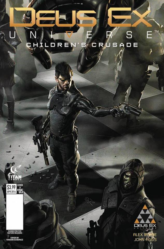 Deus Ex #5 (Schepacz Cover)