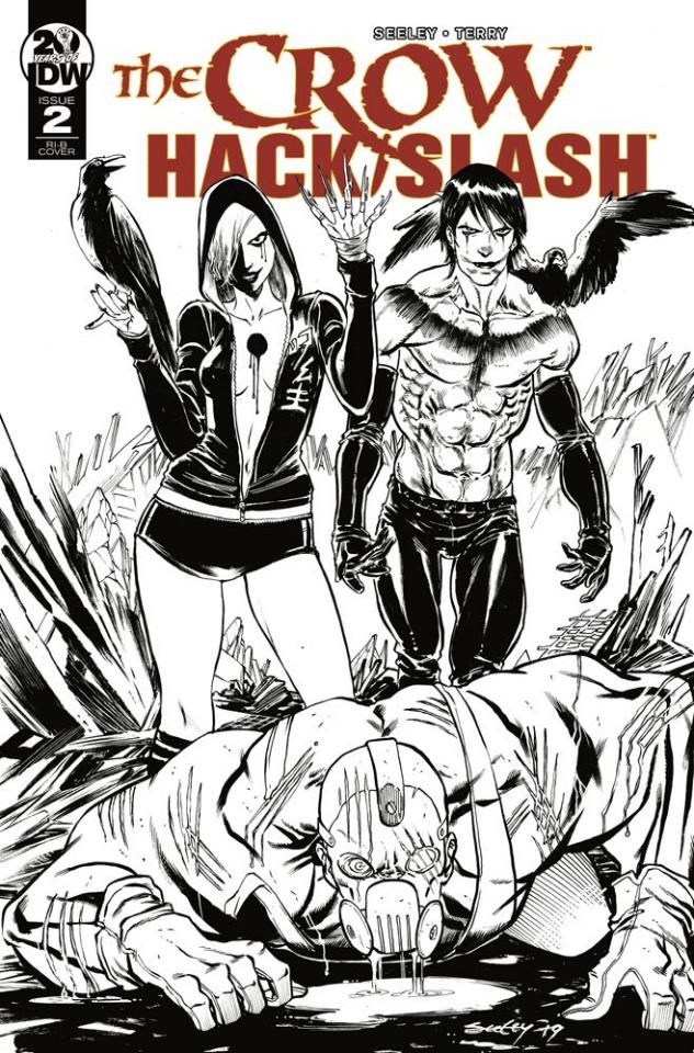The Crow / Hack/Slash #2 (20 Copy Seeley Cover)