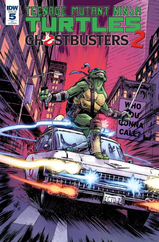 Teenage Mutant Ninja Turtles / Ghostbusters 2 #5 (10 Copy Cover)