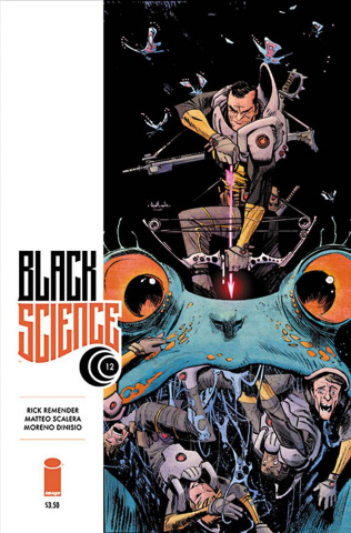 Black Science #12 (Murphy & Hollingsworth Cover)
