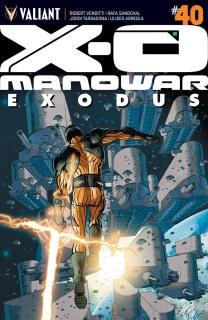 X-O Manowar #40 (Fowler Cover)