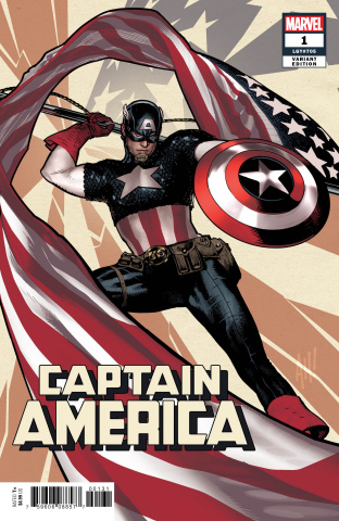 Captain America #1 (Hughes Cover)