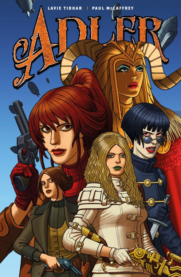Adler #3 (McCaffrey Cover)