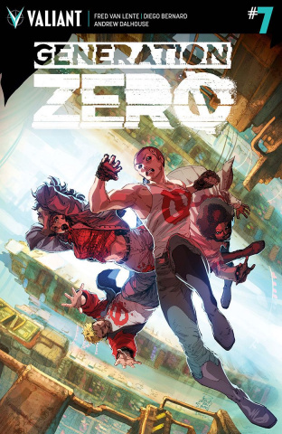 Generation Zero #7 (Tan Cover)