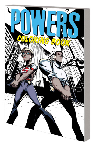 Powers Coloring Book