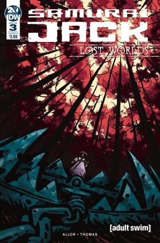 Samurai Jack: Lost Worlds #3 (Fullerton Cover)