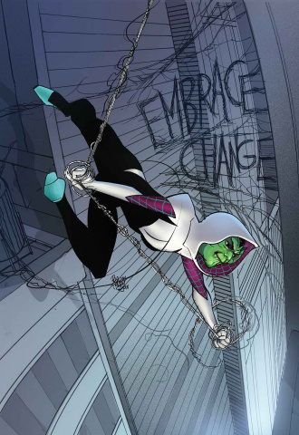 Spider-Gwen: Ghost Spider #5 (Ferry Skrulls Cover)