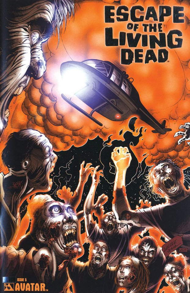 Escape of the Living Dead #5 (Platinum Foil Cover)