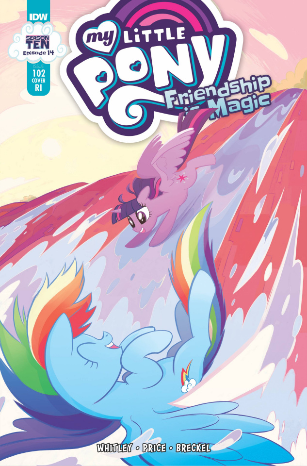 My Little Pony: Friendship Is Magic #102 (10 Copy Cover)