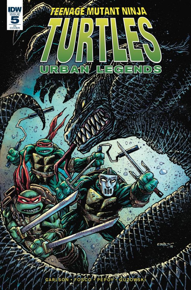 Teenage Mutant Ninja Turtles: Urban Legends #5 (10 Copy Eastman Cover)