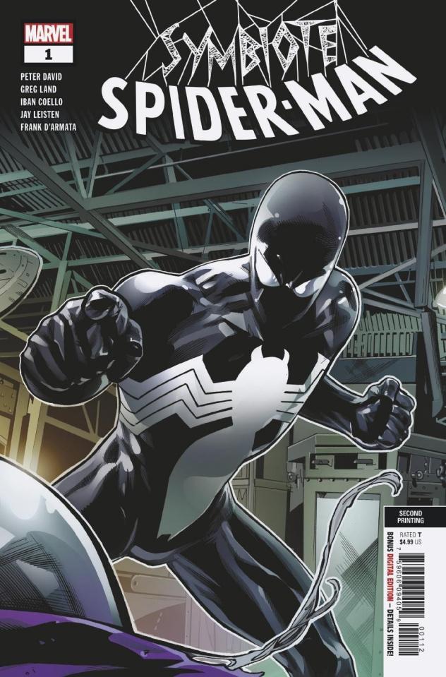 Symbiote Spider-Man #1 (Land 2nd Printing)