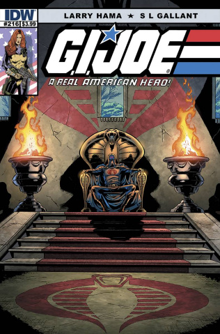 G.I. Joe: A Real American Hero #216