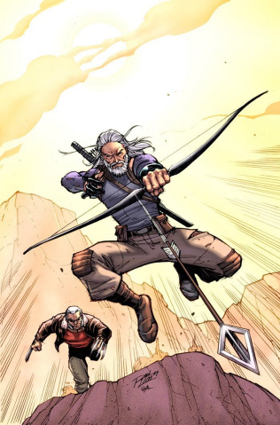 Old Man Hawkeye #1 (Lim Cover)