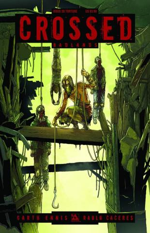 Crossed: Badlands #28 (Torture Cover)