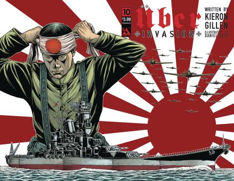 Über: Invasion #10 (Wrap Cover)