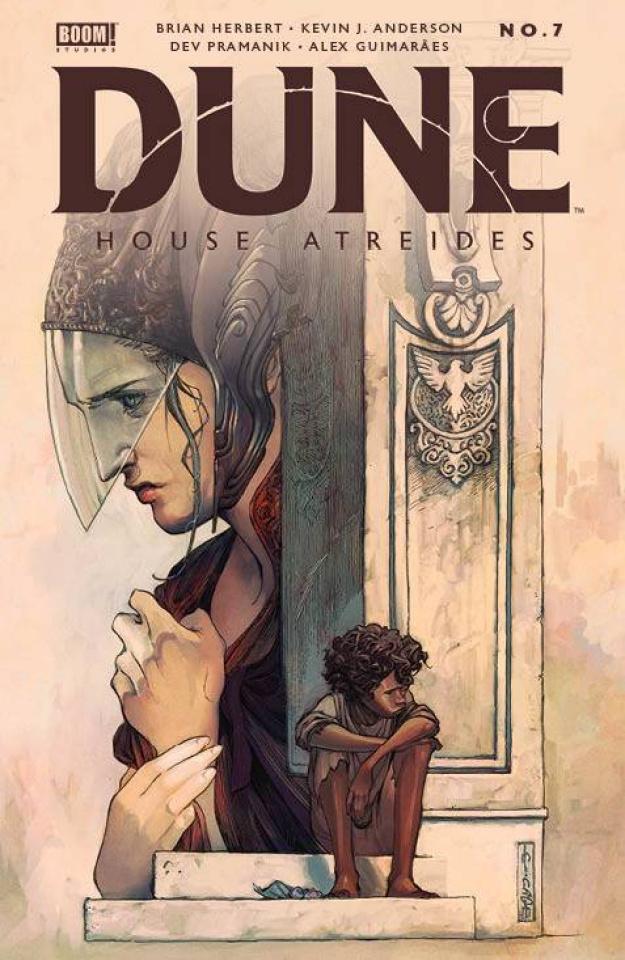 Dune: House Atreides #7 (Cagle Cover)