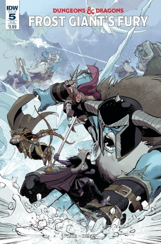 Dungeons & Dragons: Frost Giant's Fury #5 (Subscription Cover)