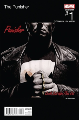 The Punisher #1 (Bradstreet Hip Hop Cover)