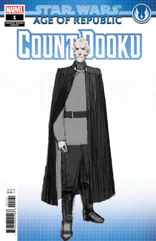 Star Wars: Age of Republic - Count Dooku #1 (Concept Cover)