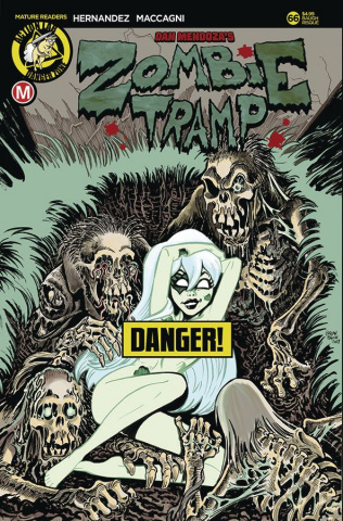 Zombie Tramp #66 (Baugh Risque Cover)
