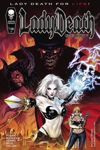 Lady Death: Merciless Onslaught #1