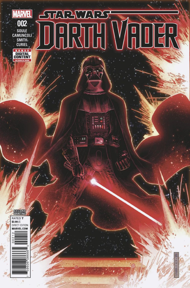 Star Wars: Darth Vader #2 (2nd Printing Cheung Cover)
