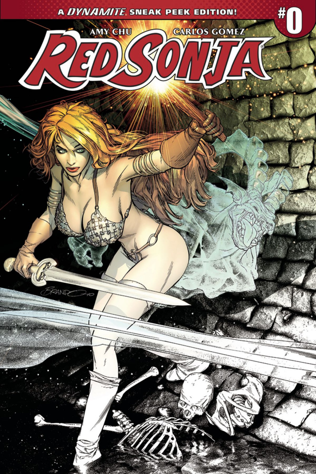 Red Sonja #0 (50 Copy Peterson Sneak Peek Cover)