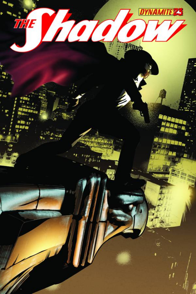 The Shadow #23 (Calero Cover)