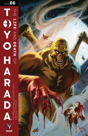 The Life and Death of Toyo Harada #6 (Brereton Cover)