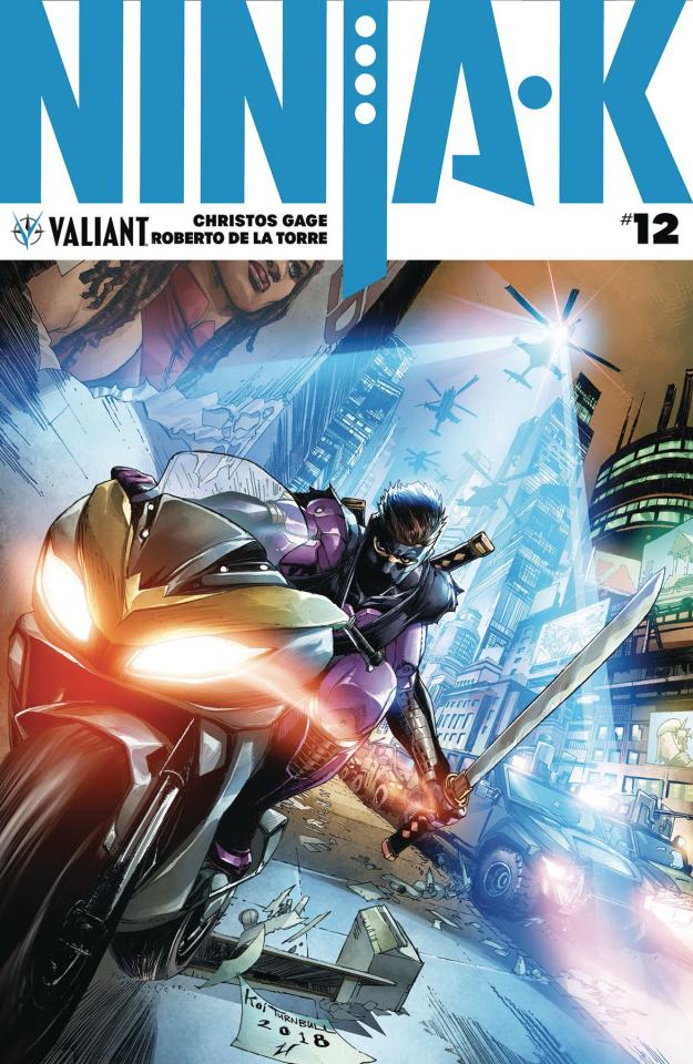 Ninja-K #12 (Turnbull Cover)