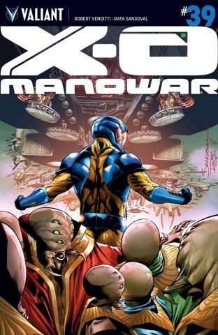 X-O Manowar #39 (Sandoval Cover)