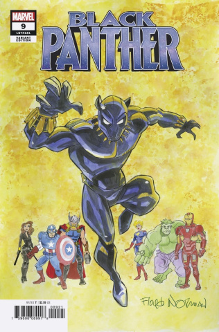 Black Panther #9 (Norman Cover)