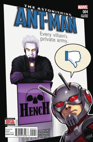 Astonishing Ant-Man #4 (Rocafort 2nd Printing)