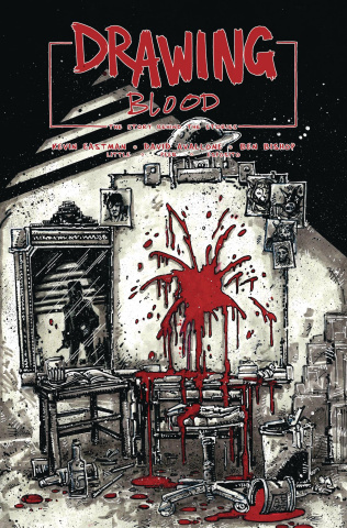 Drawing Blood: Spilled Ink #1 (Eastman Cover)