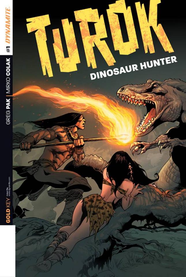 Turok: Dinosaur Hunter #1 (2nd Printing)