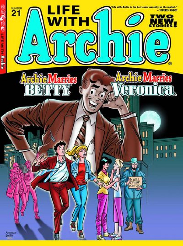 Life With Archie #21 (Kennedy Cover)