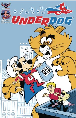 Underdog #1 (Overcat Ropp Cover)