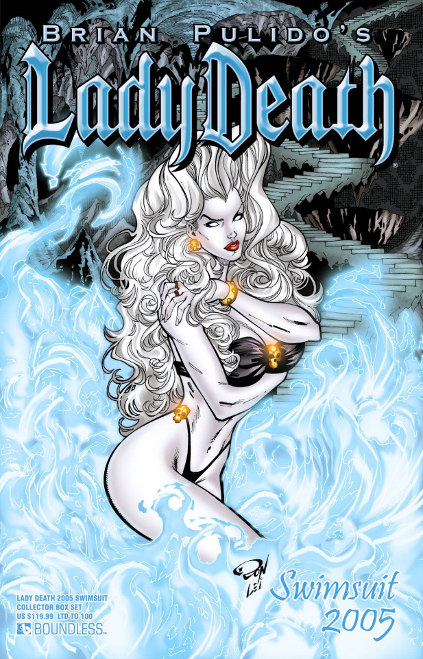 Lady Death 2005 Swimsuit Deluxe Collectors Box Set