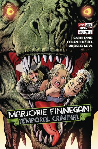 Marjorie Finnegan: Temporal Criminal #3 (Clarke Cover)