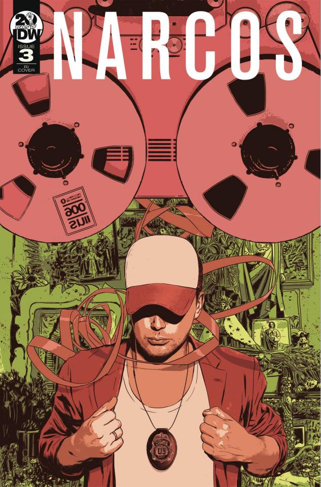 Narcos #3 (10 Copy Fuso Cover)