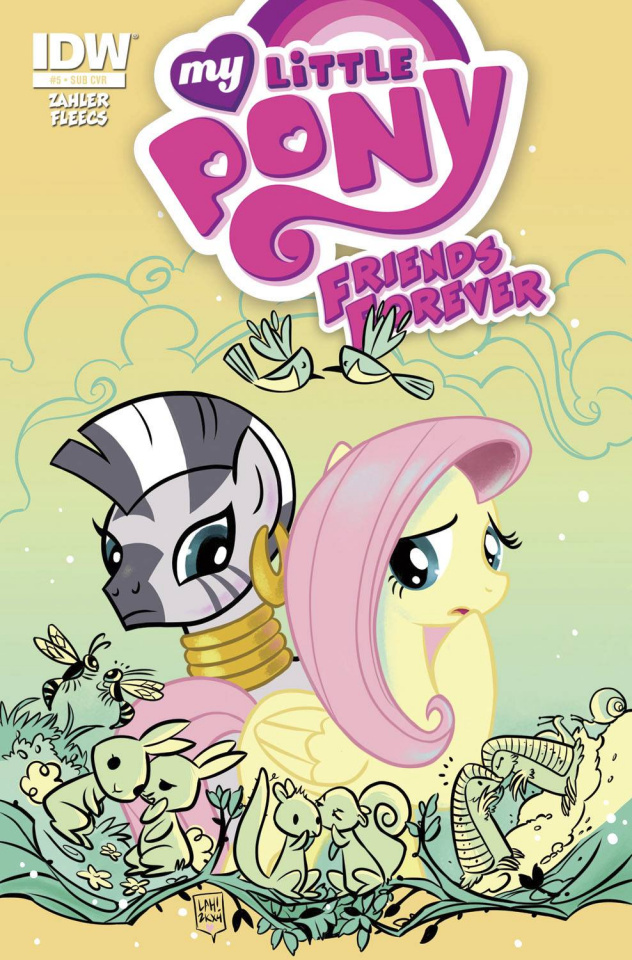 My Little Pony: Friends Forever #5 (Subscription Cover)
