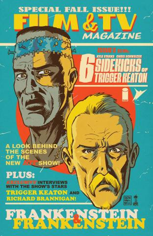 The Six Sidekicks of Trigger Keaton #5 (Francavilla Cover)
