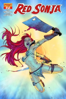 Red Sonja #7 (Reeder Cover)