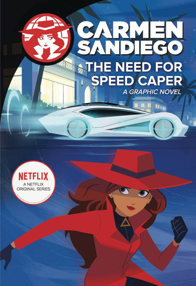 Carmen Sandiego Vol. 4: The Need for Speed Caper