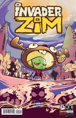 Invader Zim #9 (Variant Cover)