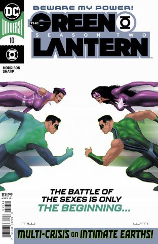 Green Lantern, Season 2 #10 (Liam Sharp Cover)