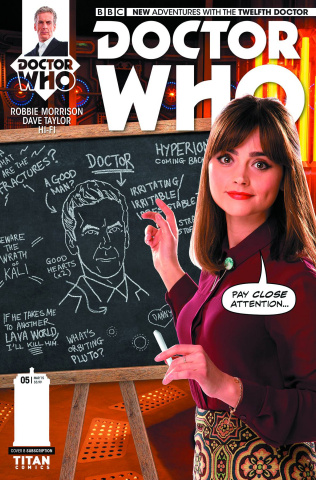 Doctor Who: New Adventures with the Twelfth Doctor #5 (Subscription Photo Cover)